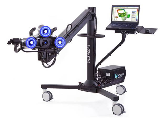 WLS400M Manually Operated White Light Scanner