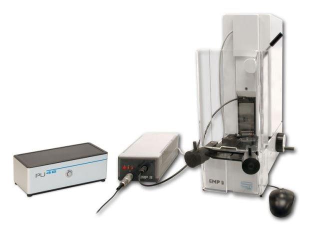 EMP II塊規比測儀