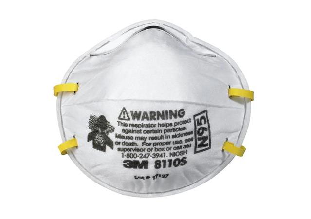 3M 8110S N95拋棄式防塵口罩
