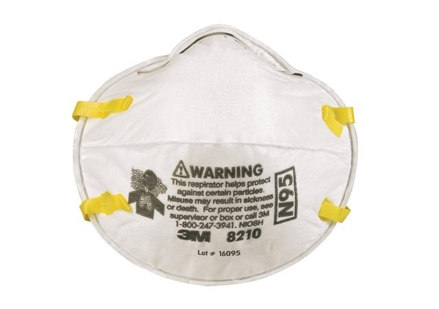3M 8210 N95拋棄式防塵口罩