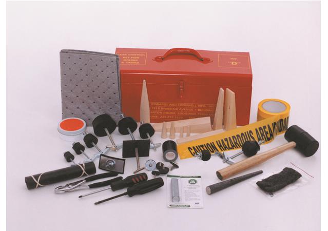 通用桶槽修理堵漏組Kit D (標準工具組) & D-NS (無火花工具組)