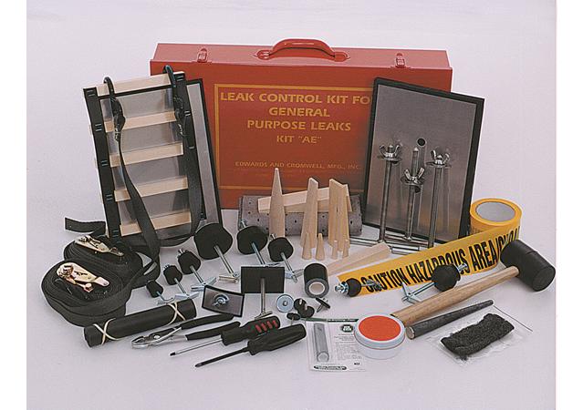通用型破桶修補工具Kit AE(標準工具組) & AE-NS(無火花工具組)