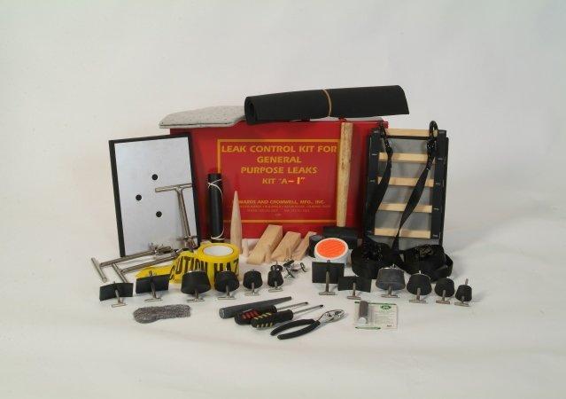 通用型洩漏控制組Kit A1(標準工具組) & A1-NS(無火花工具組)