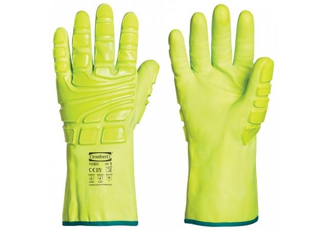 抗衝擊和化學防護手套 115.9012