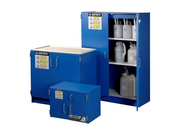 藍色膠合板腐蝕性用品安全櫃