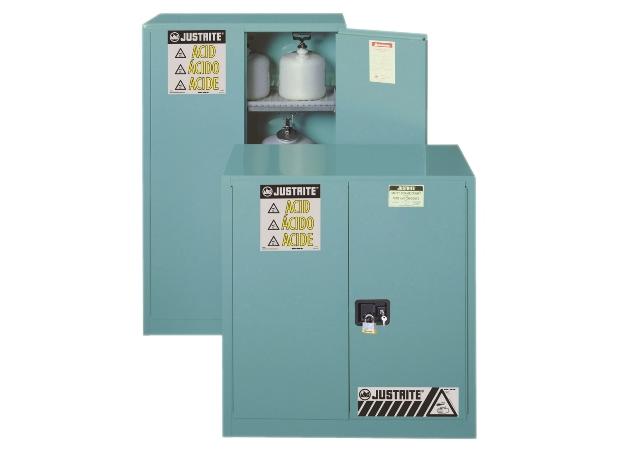 藍色鋼製化學櫃