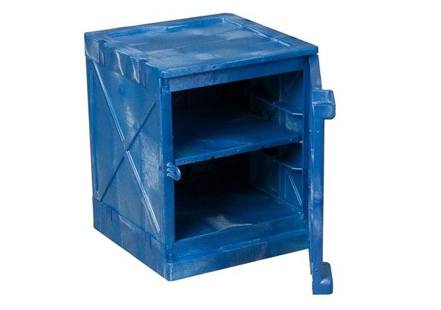 藍色聚乙烯腐蝕性用品安全櫃