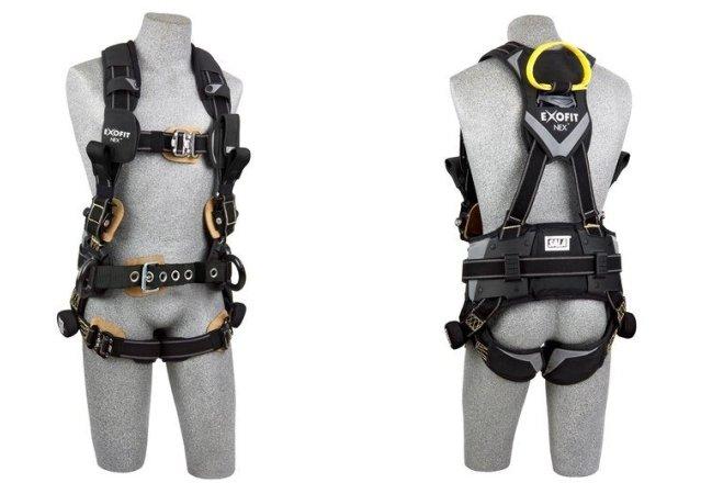 ExoFit NEX™電弧閃光工程用定位/救援全身式安全帶