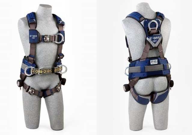 EXOFIT NEX™工程型定位/攀爬式全身式安全帶